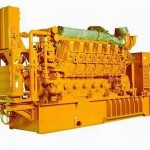 Groupe gaz cogénération thermique G3616-3851