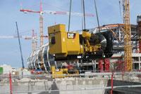BTP- Stade de Lille - Groupes électrogènes pour l'alimentation électrique du chantier