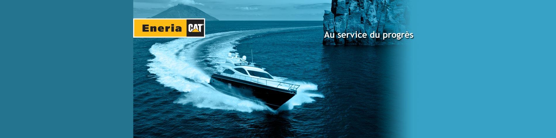 Nos moteurs marins Caterpillar trouvent leurs applications dans de nombreux domaines. Nos références en sont l'illustration.