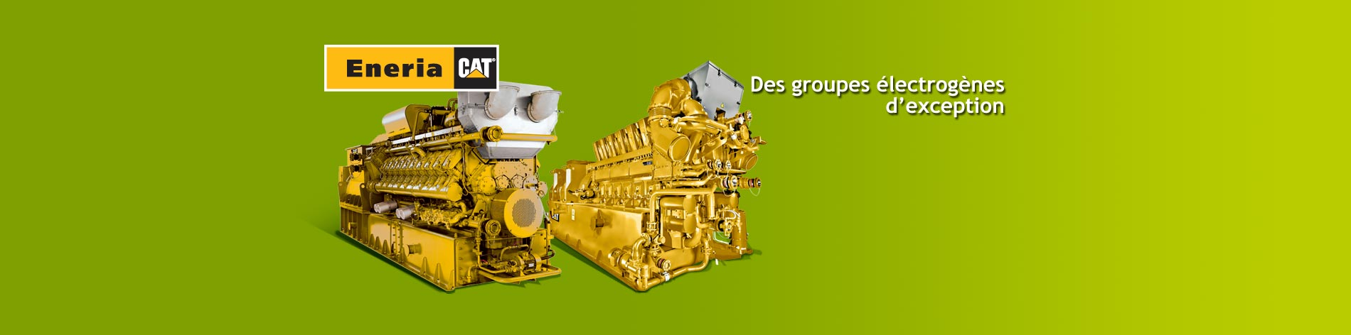 Nous vous proposons une gamme complète de groupes électrogènes gaz adaptée à tout type de gaz de 130 à 4 300 kWe.