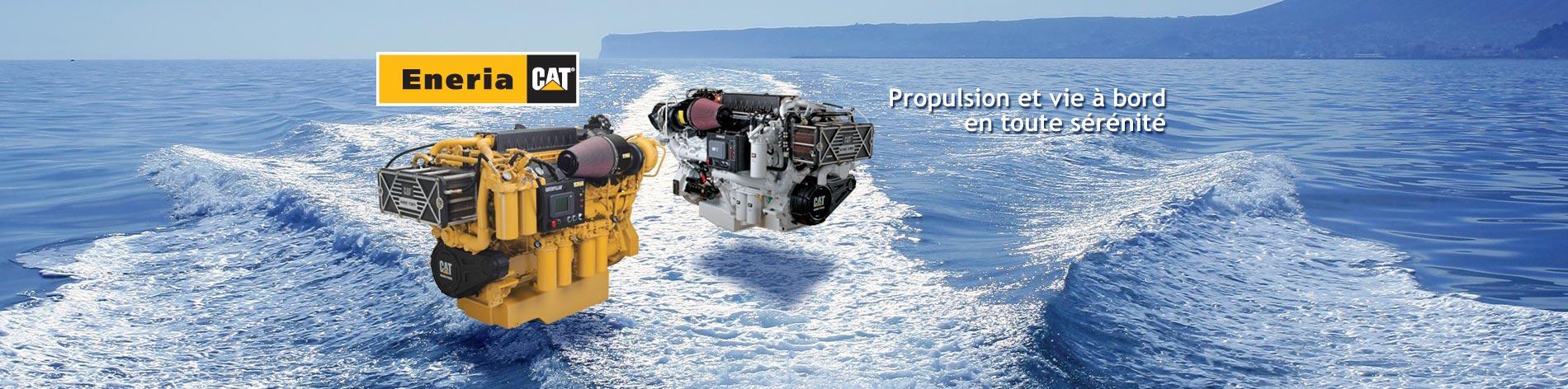 Avec une large gamme de moteurs diesel marins Caterpillar, nous offrons le meilleur de la technologie, apportons la solution la mieux adaptée à vos projets et assurons un service après-vente irréprochable.