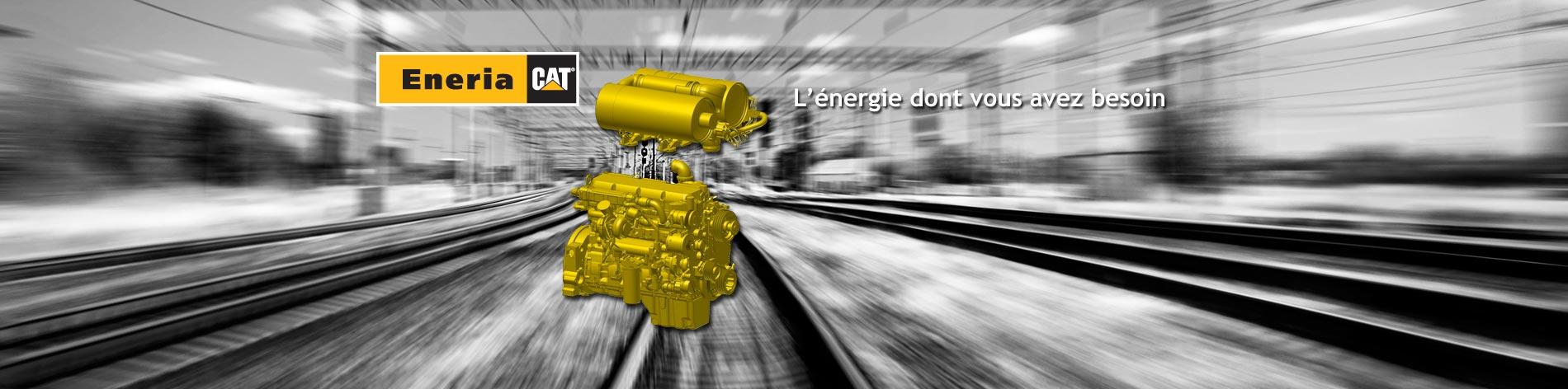 Nous proposons une large gamme de moteurs diesel Caterpillar, dans de nombreuses versions, destinés à équiper des machines industrielles et ferroviaires.