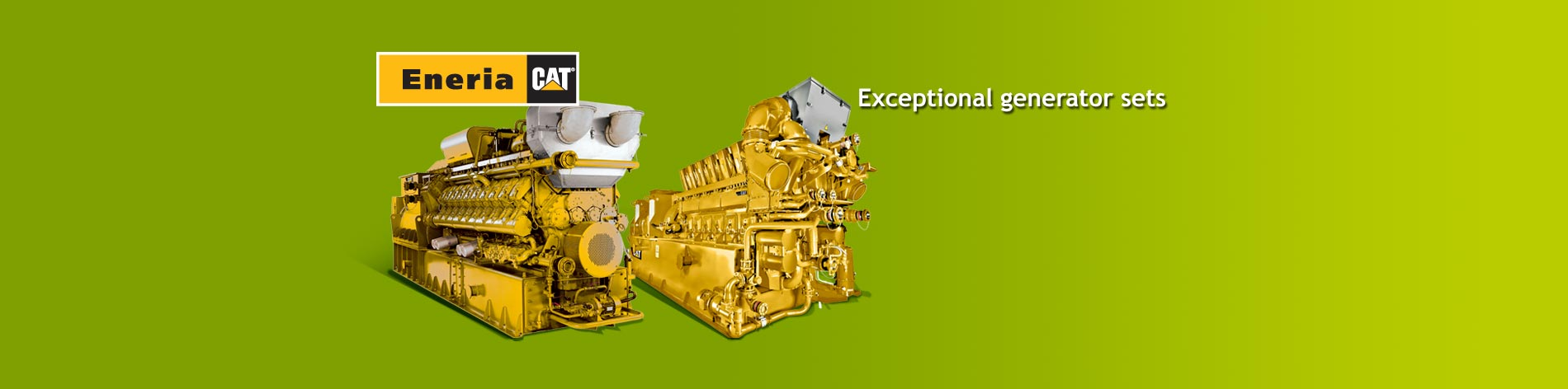 We offer a complete line of gas generator sets adapted for any type of gas with outputs from 130 kWe to 4,300 kWe.