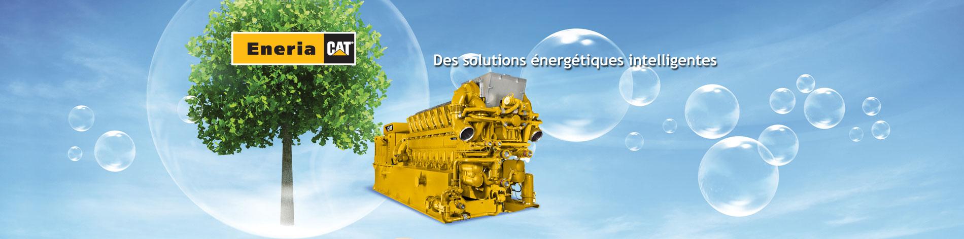 Gaz ou biogaz, de 130 à 4 300 kWe, nous distribuons et installons les groupes électrogènes Caterpillar répondant à vos besoins de chaleur, de froid ou d'électricité.